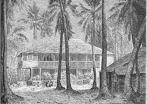 habitation de St Domingue XVIIIe s.